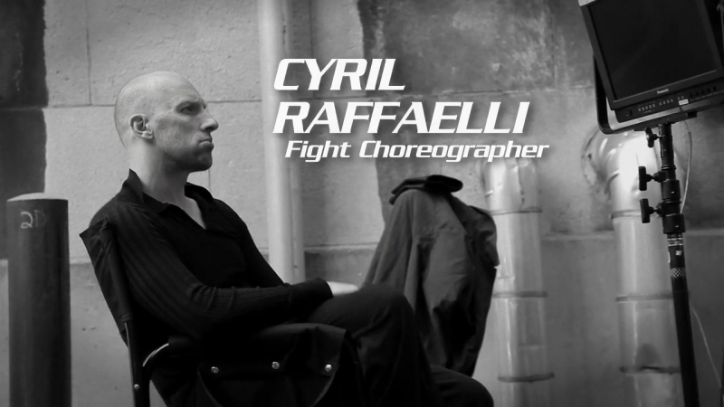 Transporter : The Series , Cyril Raffaelli Interview