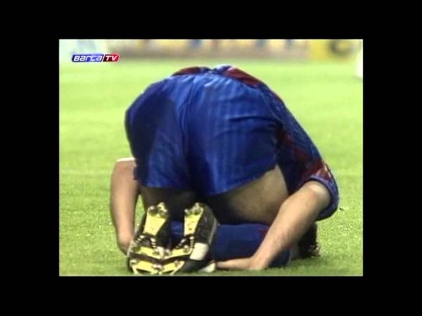 FC Barcelona - FC Juventus 1991-04-12 КОК 1/2 матч № 1