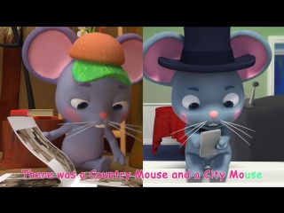 The Country Mouse and the City Mouse - Cocomelon (ABCkidTV) Nursery Rhymes Kids Songs
