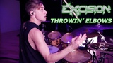 Luke Holland - Excision - 'Throwin' Elbows' Drum Remix