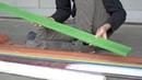 Extrude beams from plastic waste preciousplastic