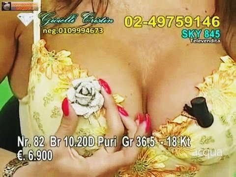 JOANNA GOLABEK Beautiful Italian woman with chic breasts and long nails 2014 Part 1
