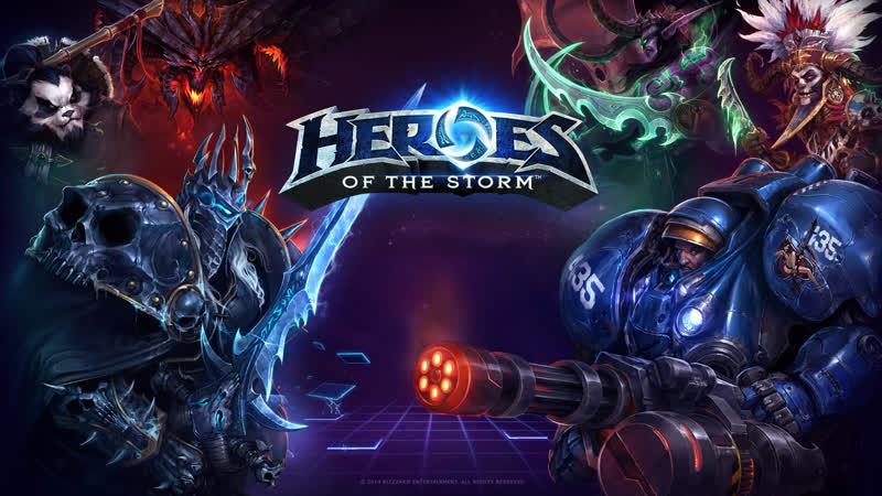 Heroes of the storm - воскрешаем мёртвое!