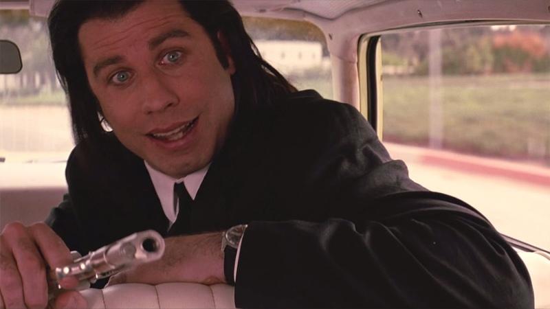 Случай в машине — «Криминальное чтиво» (1994) сцена 1112 QFHD