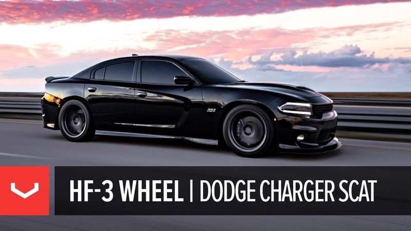 Vossen Hybrid Forged HF 3 Wheel Dodge Charger Scat Pack