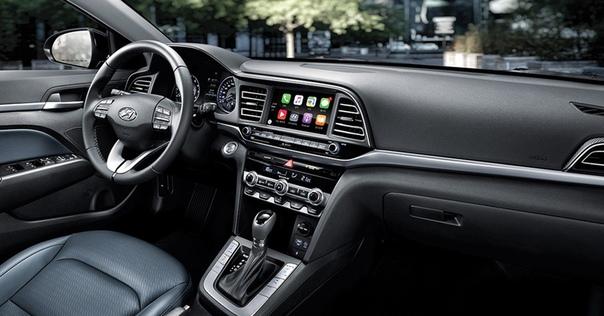 Обновленный седан Hyundai Elantra: цены в России