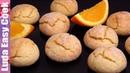 Всегда мало! Апельсиновое ПЕЧЕНЬЕ К ЧАЮ на скорую руку! ТРЕСНУТОЕ ПЕЧЕНЬЕ с сахарной корочкой