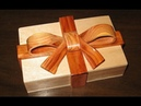 How to make a Scroll Saw Ribbon Box woodworking project