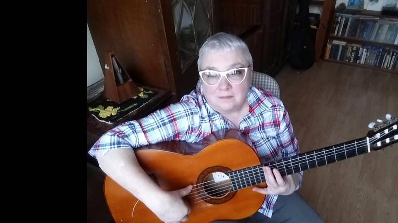 Variations on the Cossack's song for guitar Ой при лужку для гитары