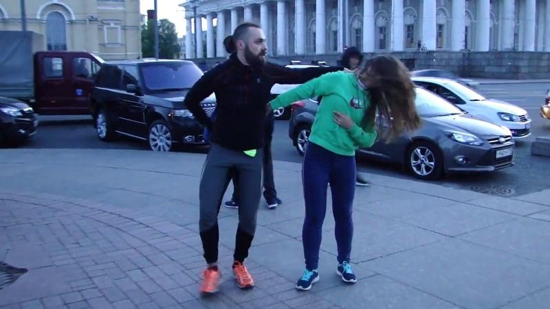 Зук с Антоном Гавриловым на Стрелке В.О.