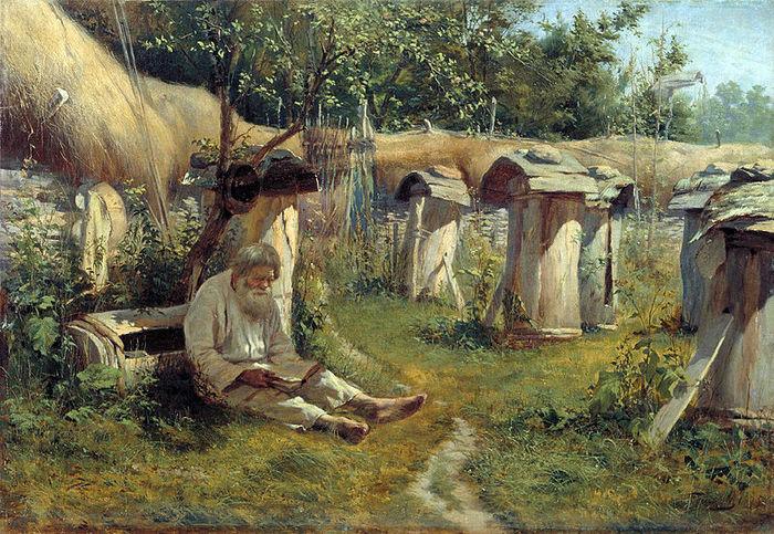 "Богатов Николай. ""Пасечник"", 1875 г."