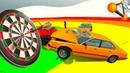 ДАРТС НА МАШИНАХ ► BeamNG drive КРАШ ТЕСТ (Crash test) 21 серия