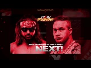 John Hennigan vs Teddy Hart, MLW Fusion, 10.08.2018