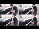 Парень шикарно сыграл на пианино Kygo & Imagine Dragons - Born To Be Yours