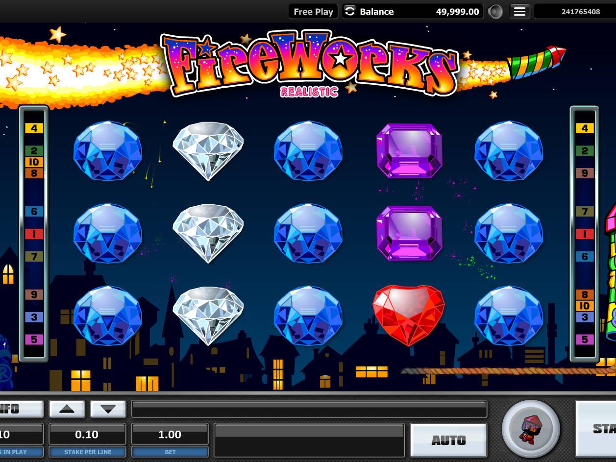 Игровой автомат - Фантастический фейерверк (Fantastic Fireworks)