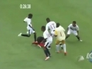 Драка или борьба, футбольный прикол