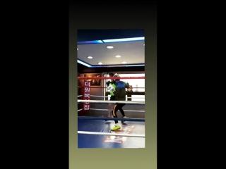 |180612| VIXX Leo @ thewon_boxing IG Story