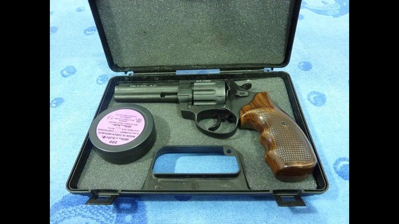 Револьвер под патрон Флобера Stalker 4,5 от ATAK ARMS CO.LTD