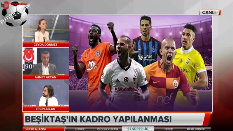 BEŞİKTAŞ Spor Ajansı ¦ Ahmet Akcan, Ergin Arslan Yorumları 17 Haziran 2018