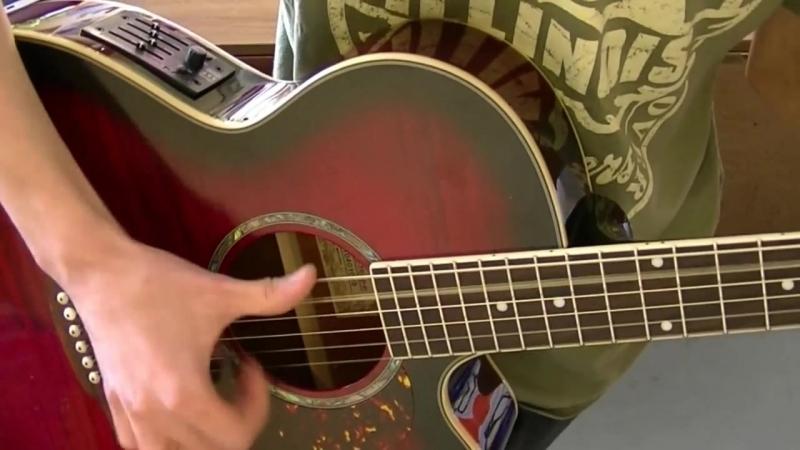 Как играть на гитаре с эффектом перкуссии │Урок │Упражнения│Часть 2