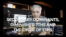 How To Use Secondary Dominants Diminished 7ths and Cycle of 5ths