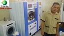 Cung cấp lắp đặt máy giặt khô eunsung, hóa chất giặt khô cho resort tai Hà Nội