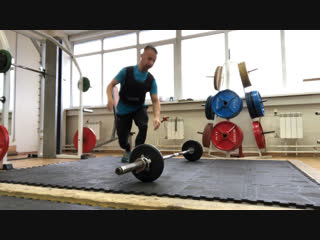 Push-ups+ Barbell Bent Over Rows 45kg