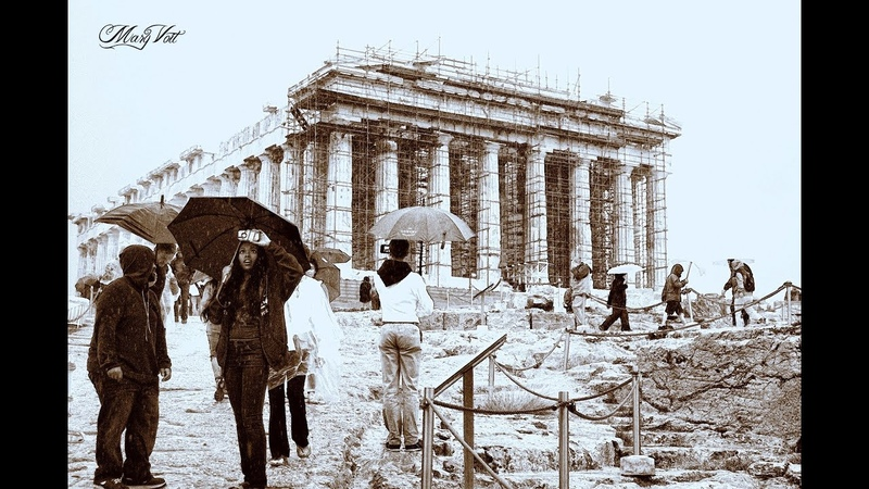 Акрополь под дождем - Acropolis on the rainy day
