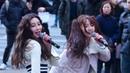 180211 신촌 버스킹 랄랄라 민지 직캠 Busters Minji 's Fancam By 민지닷컴