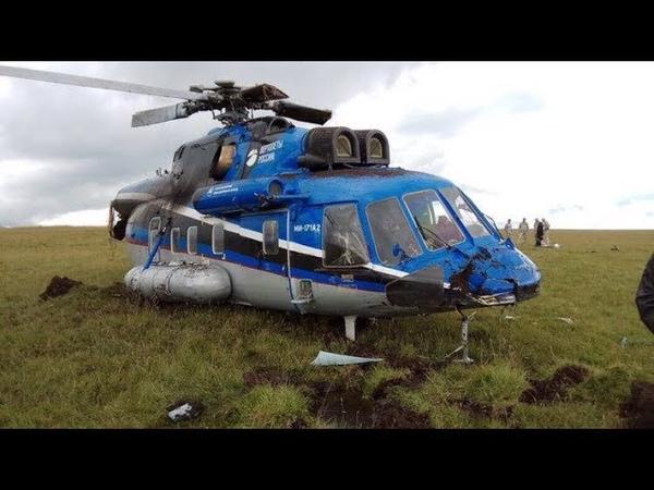 Серьезный авиационный инцидент с вертолетом Ми 171А2