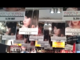 チャン・グンソク 渋谷 TUTAYA グンちゃん一色です (2013 5 28)