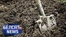 Энергетыкі закопваюць у зямлю тоны мазуту Энергетики закапывают в землю тонны мазута Белсат