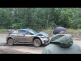 Ott Tanak Crash Rajd Rally Poland SS 21 Paprotki