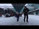 Самара вокзал скакалка прыгающие пассажиры удивили жителей и гостей города
