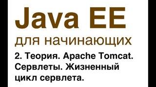 Java EE для начинающих. Урок 2: Теория. Apache Tomcat. Сервлеты. Жизненный цикл сервлета.