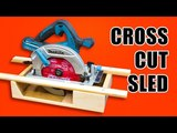Portable Circular Saw CrossCut Sled Woodworking Jig