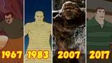 Эволюция Песочного Человека (1967-2017)