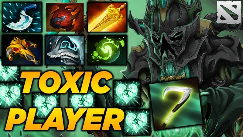 Necro Top Leaderboard Highlights [TOXIC GAME] Dota 2