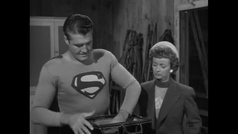 Adventures of Superman 1953 S02E11 The Man in the Lead Mask