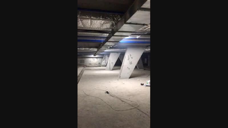 Подземный паркинг,15.02.19г