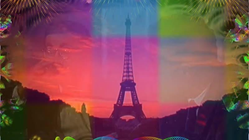 Париж, красота, мода - фрагм. из заруб. кино