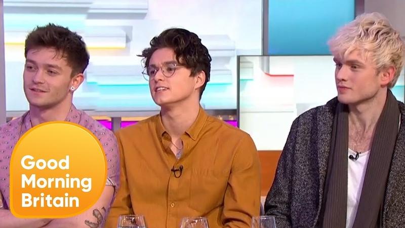 The Vamps on James McVey's I'm a Celeb Journey | Good Morning Britain