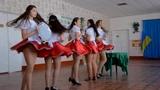 Cute Ukrainian College Girls dancing in waitress costumes