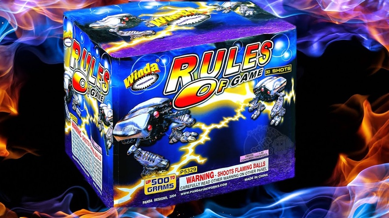 Winda Fireworks - Rules of the Game 500G 1.4G Cake