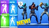 NEW EMOTES PHONE IT IN, MIME TIME, SHOWSTOPPER with LONGSHOT INSIGHT Rare Outfit Skin fortnite