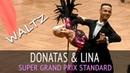Donatas Vezelis Lina Chatkeviciute Вальс 2018 GOC Professional Division Super Grand Prix