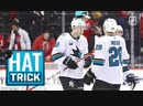 Tomas Hertl one-ups Ovi with hat trick, OT winner