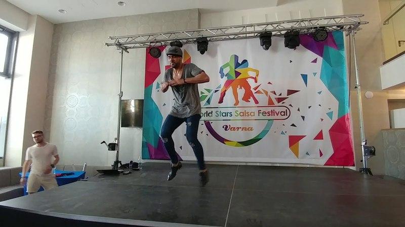 Fadi Fusion - Men Style Workshop - WSSF 2018