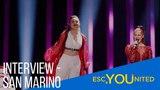 Eurovision 2018 - Jessika feat. Jenifer Brening - Who We Are (San Marino Interview)