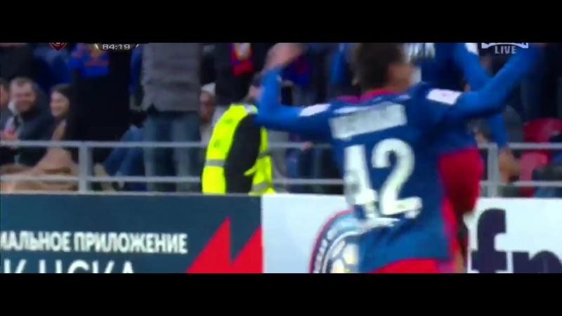 Муса оформляет дубль и выводит ЦСКА в перёд